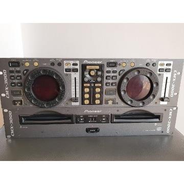 Podwójny Odtwarzacz CD dla DJ Pioneer CMX-3000 BCM