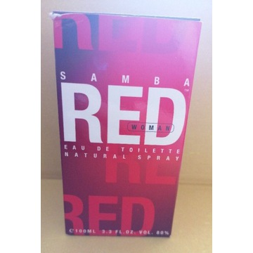 Samba Red edt 100 ml Women Unikat!