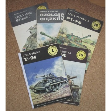 [W] Czołg Stuart, IS, PT-76, T-34, T-54