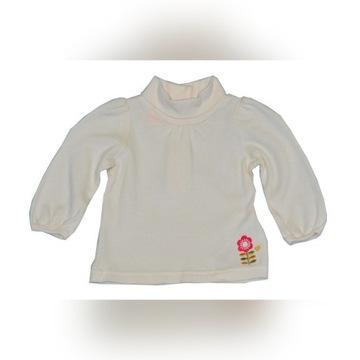 Bluzeczka - Golf dla dziewczynki 0-3M - NOWA