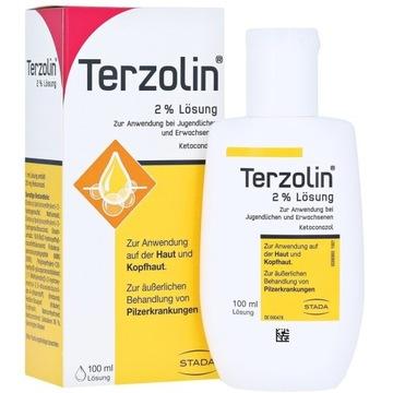 Terzolin 2% - szampon przeciwłupieżowy 100ml