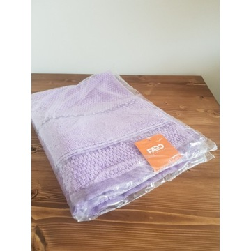 Faro ręcznik NOWY fioletowy 100% bawełny 50x90