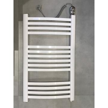Grzejnik łazienkowy elektryczny z grzałką