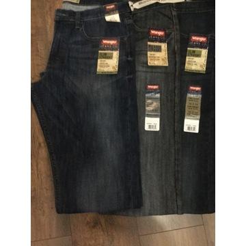 Spodnie  jeansy Wranglery