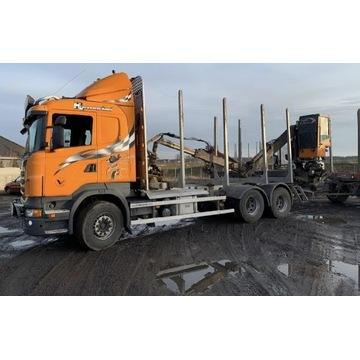 Do drewna do lasu do drzewa Scania 6x4 2011 R620