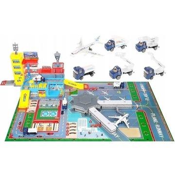 Nowe Lotnisko XXL zabawka dla dzieci z akcesoriami