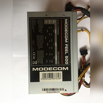 Zasilacz Modecom FEEL 500w