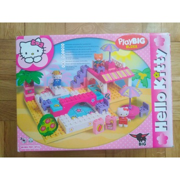 Hello Kitty PlayBig 87 Domek z basenem