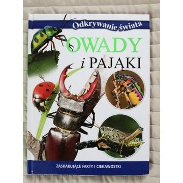 Książka. Odkrywanie świata. Owady i pająki