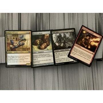 2500+kart kolekcjonerskich Magic The Gathering 4kg
