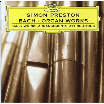 J.S.Bach / Early Organ Works / Simon Preston