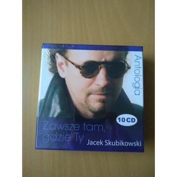Jacek Skubikowski Antologia 10 CD Zawsze Tam gdzie