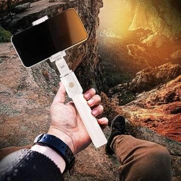 Selfie Stick Tripod K07 statyw z pilotem bluetooth