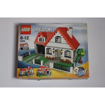LEGO Creator 4956 Domek 3w1