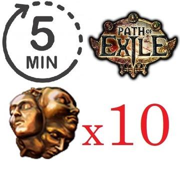 Path of Exile - 10x Exalted Orb (Delirium) TANIO!!