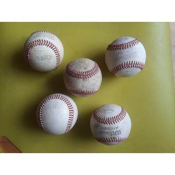 Piłki baseball - bejsbol 5 sztuk - 2 !