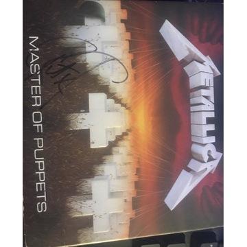 Metallica płyta z podpisem Kirk Hammett