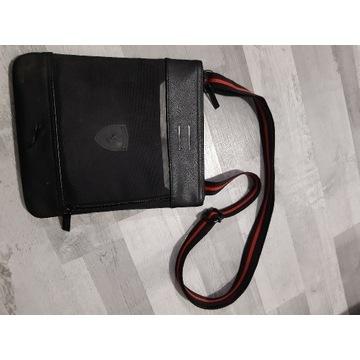 Oryginalna torebka unisex Puma Ferrari używana