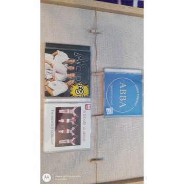 ABBA-zestaw 4 płyt CD,3 wydania .
