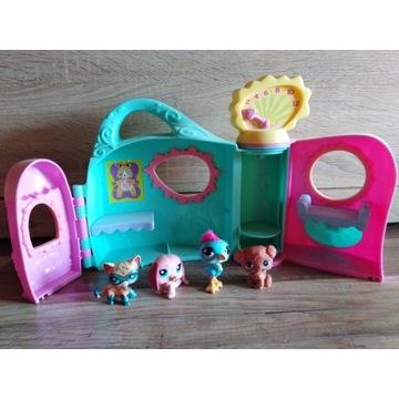 Domek littlest pet shop + figurki