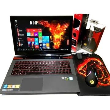 Gamingowy Laptop Lenovo Core i7 Ekran-4K Ram-16GB