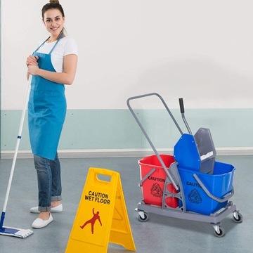 Wózek do mycia, profesjonalny wózek do sprzątania
