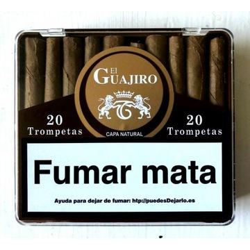 20 cygaretek cygaro el Guajiro z wysp kanaryjskich