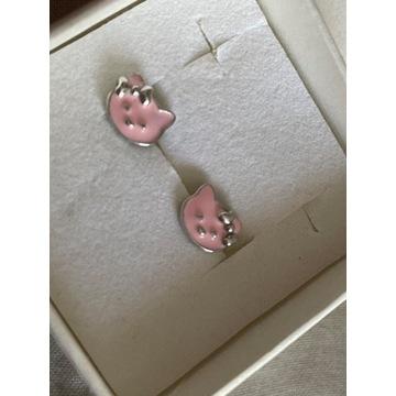 Kolczyki Briju- Hello Kitty