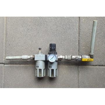 Filtr reduktor naolejacz GAV FRL-200 1/2'' zawór
