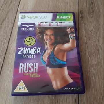 Zumba Rush na kinect Xbox 360