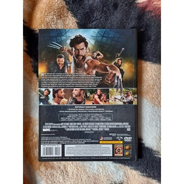 X-Men: Geneza - Wolverine - płyta DVD + książka