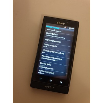 Telefon komórkowy Sony MT27i Sola