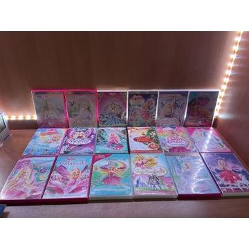 Barbie 18 płyt DVD (zestaw)