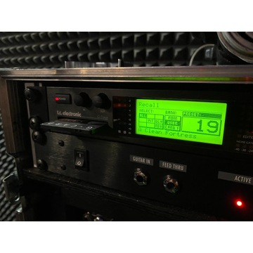 Procesor gitarowy TC Electronic G-Force + G Card