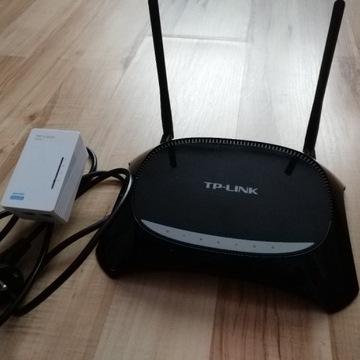 Powerline tp-link router dual band + av500 z wifi