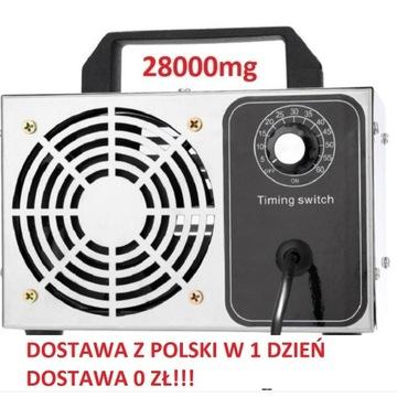 Generator ozonu 28000mg Dostawa z Polski w 1 dzień