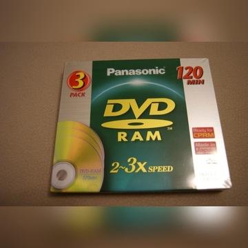 !!!WYPRZEDAŻ!! PŁYTY  PANASONIC RAM 3 SZTUKI