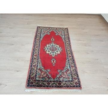 Piękny orientalny ręcznie tkany wełniany dywan
