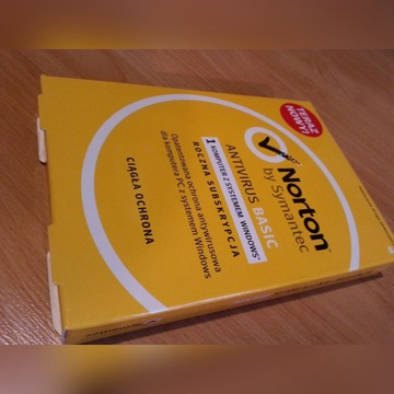Symantec Norton Antivirus Basic dla Windows