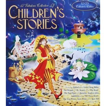 Children's stories 12 płyt CD bajki po angielsku