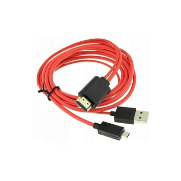 Adapter Kabel MHL Micro USB HDMI Do Telewizora