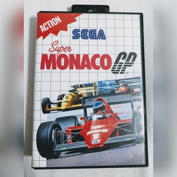Super Monaco GP na Sega Master System II