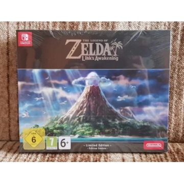 LEGEND OF ZELDA LINK'S AWAKENING LIMITED ED. NOWA