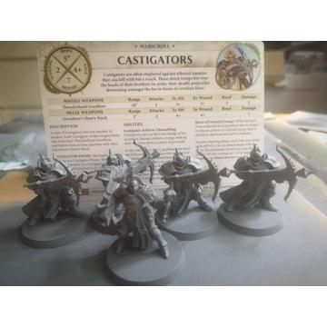 Warhammer Stormcast Eternals Castigators x 5