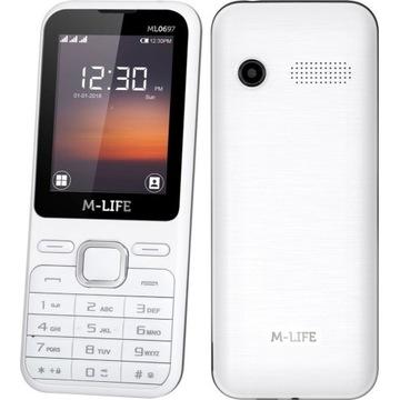 Telefon dla seniora M-Life 3 karty sim