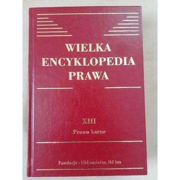 Wielka encyklopedia prawa, prawo karne, t. XIII