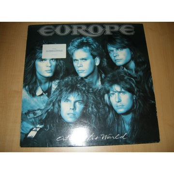 EUROPE - OUT OF THIS WORLD - LP