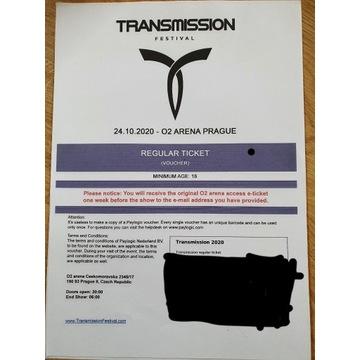2x Bilet Transmission Praga 11.09.2021
