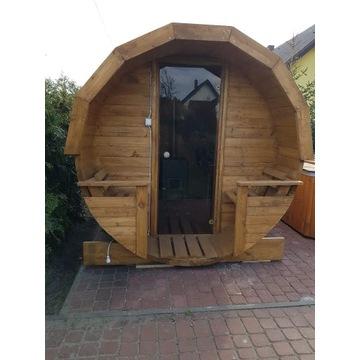 Sauna , sauna ogrodowa , sauna beczka ,Rusk bania