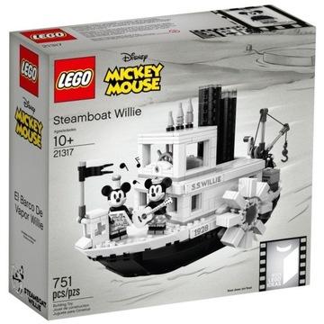 LEGO 21317 IDEAS Parowiec Willie